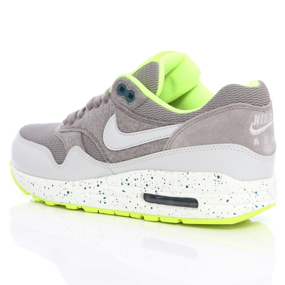 innovative design 3d662 2418a Nike Air Max 1 – Canyon Grey   Dusty Grey   Volt