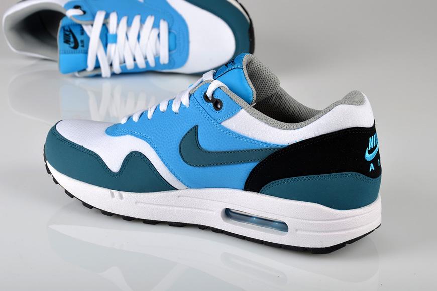sale retailer 8bc3f 88702 Nike Air Max 1 Essential – White  Night Factor  Vivid Blue