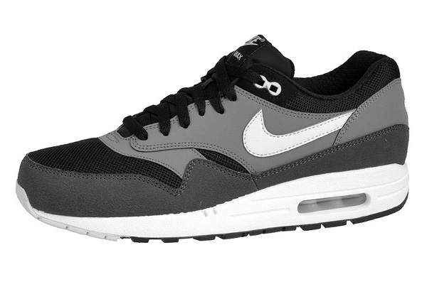 Nike Air Max 1 Essential – Black & Geyser Gray