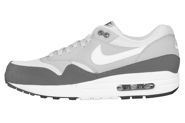 Nike Air Max 1 Essential – Silver & White