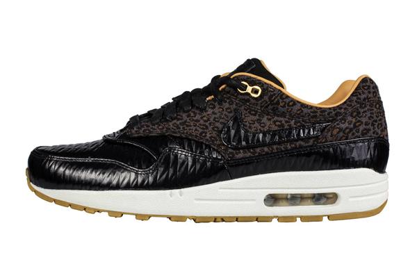 Nike Air Max 1 Woven FB – Leopard Black