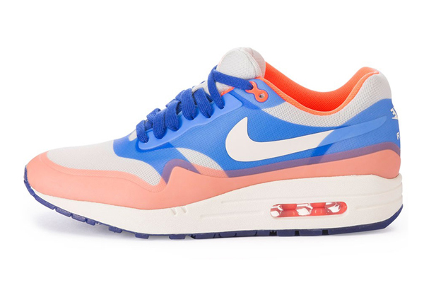 Nike Air Max 1 Premium Hyperfuse – Hyper Blue & Total Crimson