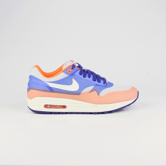 newest 72f1d 45b65 Nike Air Max 1 Hyperfuse Premium – Hyper Blue   Total Crimson
