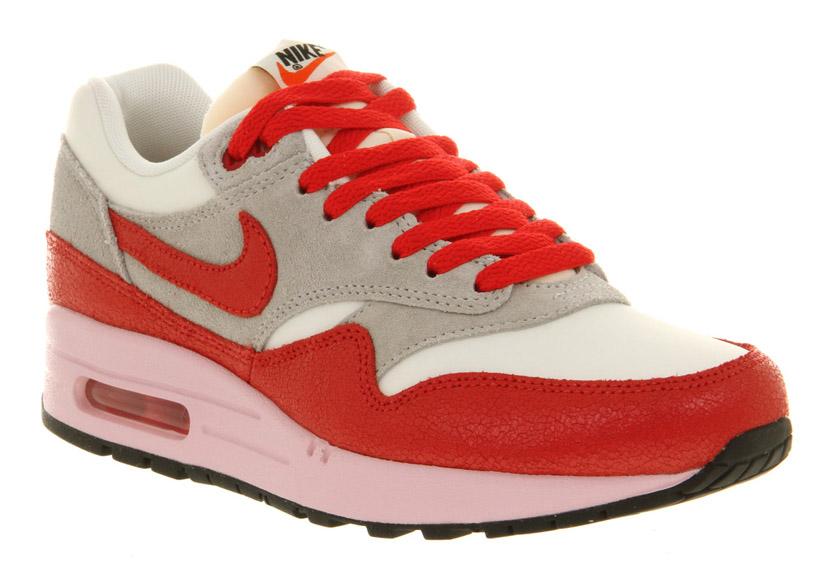 fresh styles dirt cheap new high quality Nike Air Max 1 ND VNTG - Hyper Red & Start Gray ...
