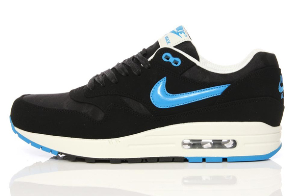 Nike Air Max 1 PRM – Black and Blue Camouflage
