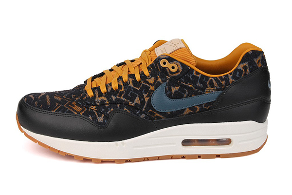 Nike Air Max 1 Premium Curtains – Black & Gold