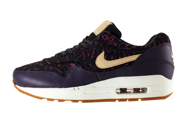 Nike Air Max 1 Premium – Purple Dynasty & Linnen Black