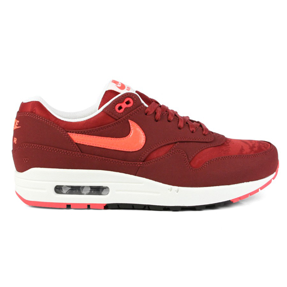 Nike Air Max 1 Premium \u2013 Team Red \u2013 Atomic Red Camouflage