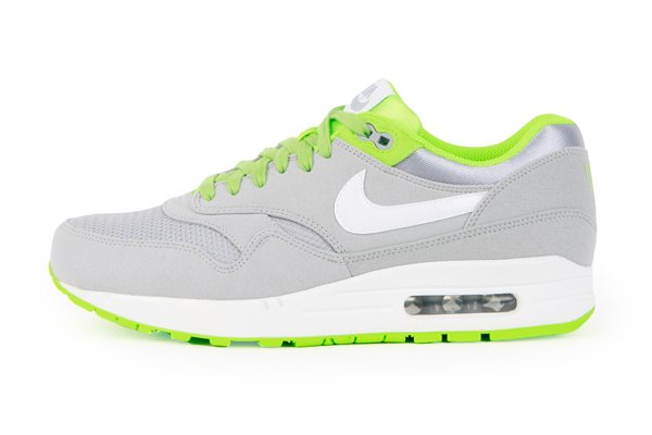 Nike Air Max 1 Premium – Wolf Gray & Flash Lime