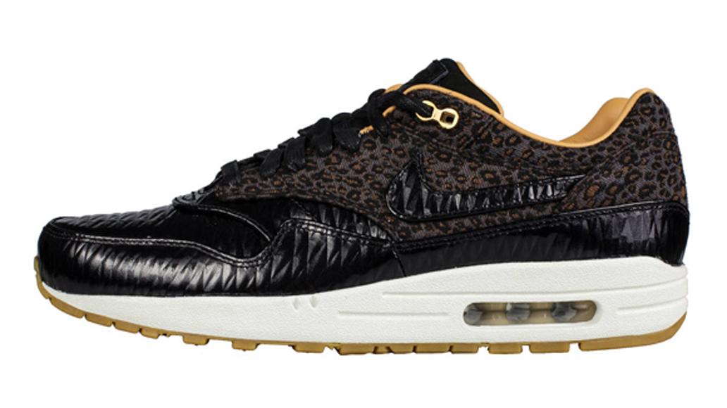 timeless design 4574c 02d0f Nike Air Max 1 FB Woven – Leopard Black