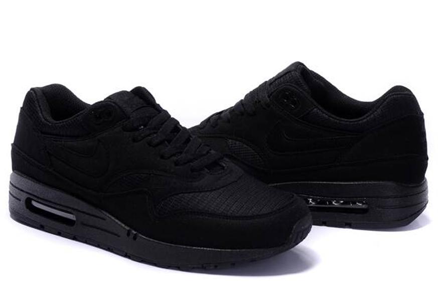 Nike Air Max 1 Comfort Premium Tape Black Nikeairmax1 Com