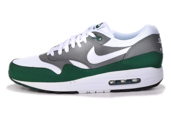 Nike Air Max 1 Essential – White, Mercury Grey & Gorge Green