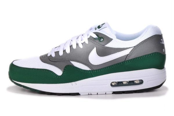 Nike Air Max 1 Essential – Mercury Grey, Gorge Green & White