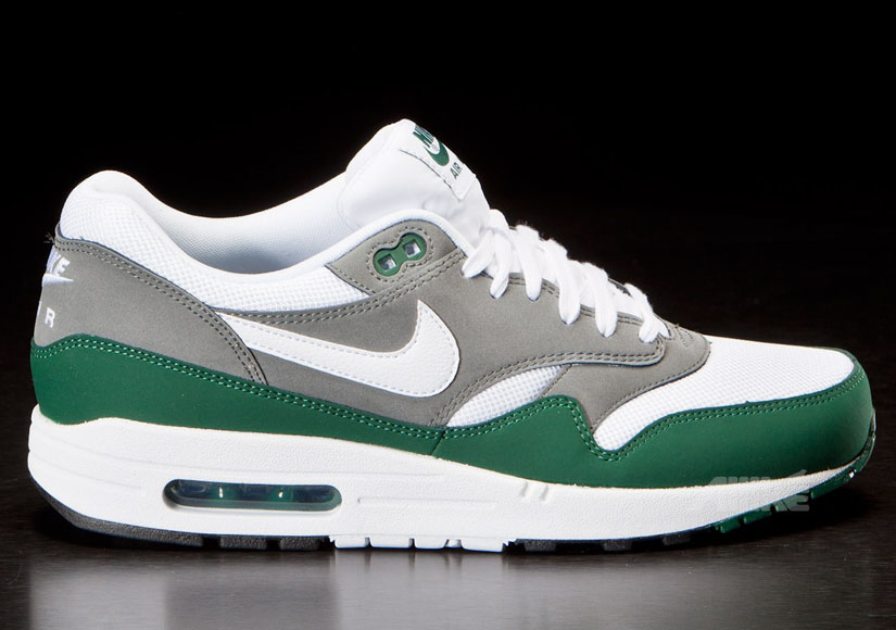 Nike Air Max 1 Essential Mercury Grey Gorge Green