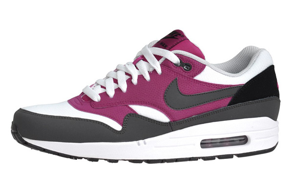 Nike Air Max 1 Essential – White & Dark Grey & Bright Magento