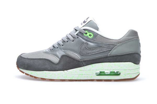Nike Air Max 1 Premium – Mine Grey & Mecury Grey & Flash Lime