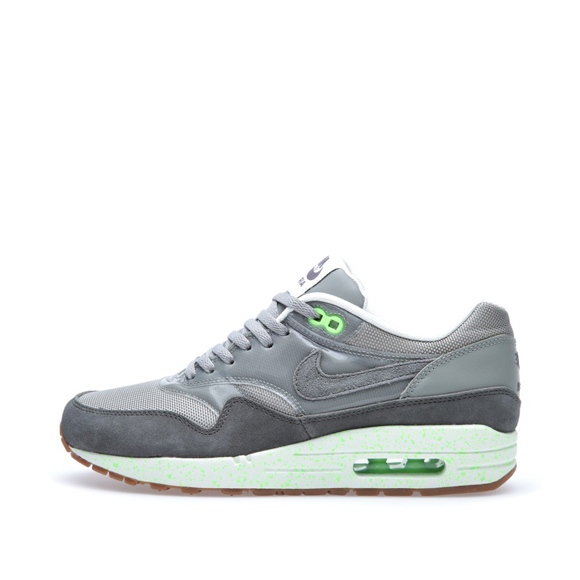 Nike Air Max 1 Premium - Mine Grey   Mecury Grey   Flash Lime ... 86d29de5ab57