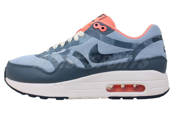 Nike Air Max 1 Premium Tape – Armory Blue & Atomic Pink