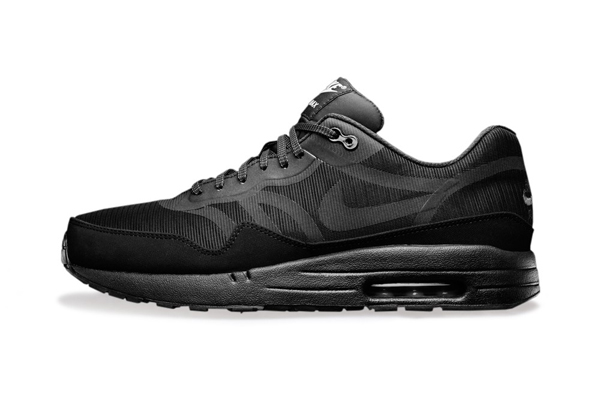 Nike Air Max 1 Premium Tape – Reflective Pack – All Black