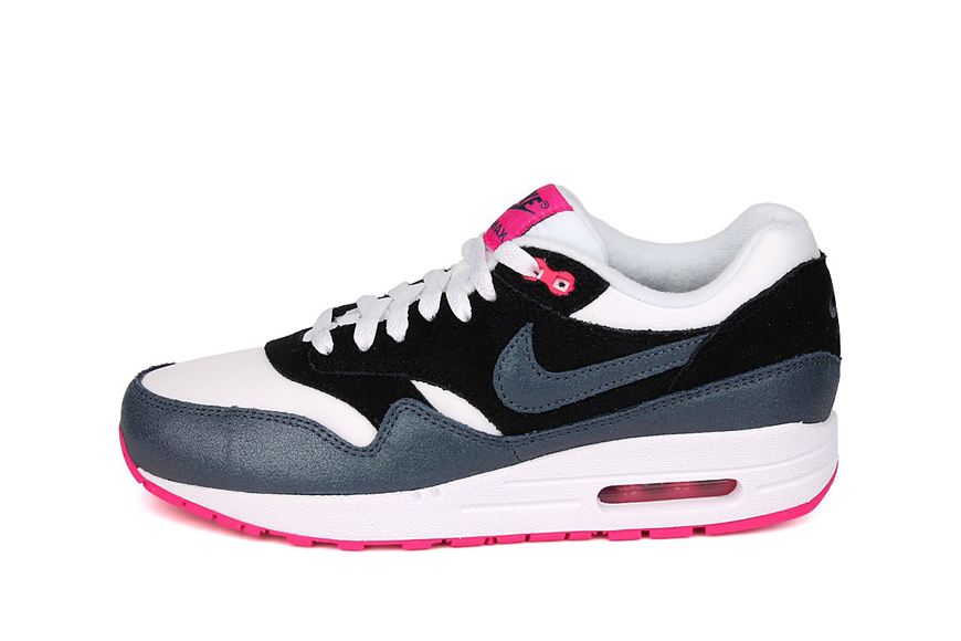 économiser a382e cd8b9 Nike Air Max 1 Essential - Armoury Blue & Navy Pink ...