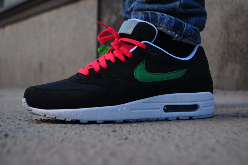 pretty nice 2b531 7c227 Awesome though, but we are not going crazy because we ve never seen  something like this before. The Nike Air Max 1 ACG – Black   Victory Green  ...