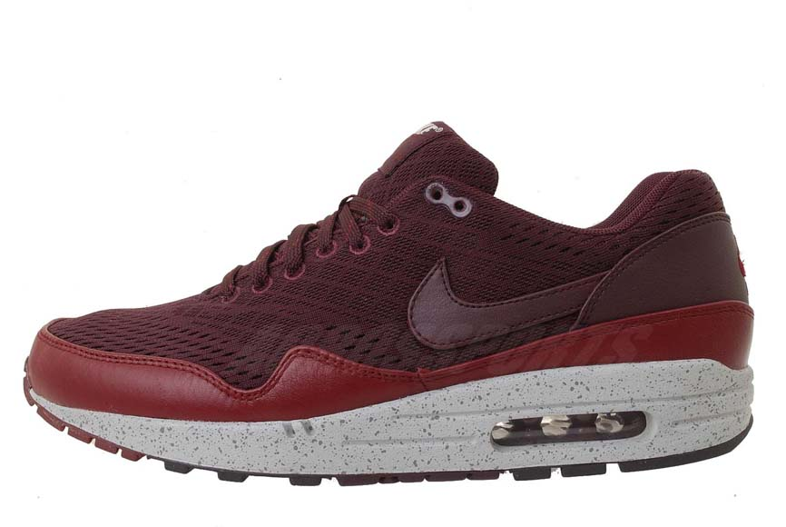 best service 3b7d0 526a4 Nike Air Max 1 EM London – Deep Red