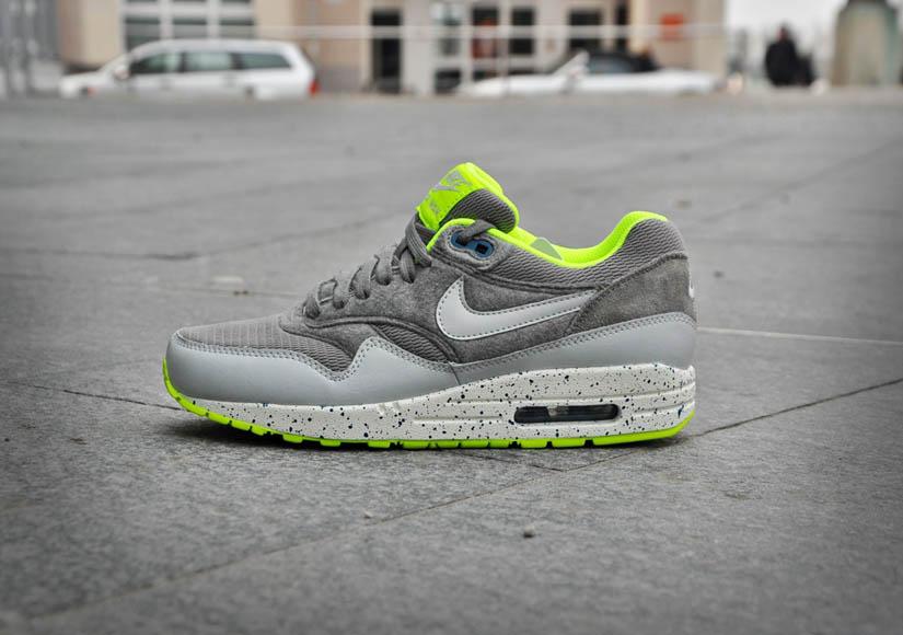 Nike Air Max 1 - Volt & Canyon Grey & Dusty Grey | NikeAirMax1.com