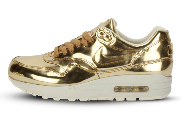 Nike Air Max 1 WMNS Liquid Metal – Gold