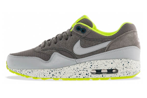 Nike Air Max 1 – Volt, Dusty Grey & Canyon Grey