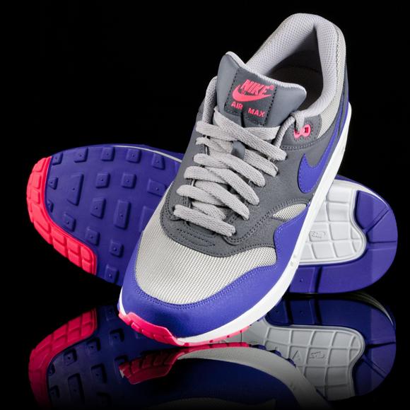 100% authentic 12ff0 7ac09 Nike Air Max 1 Essential – Ultra Marine   Medium Grey
