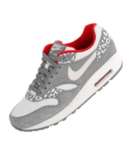 nike air max 1 leopard grey
