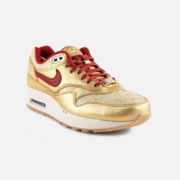 photos officielles 1099d 374cb Nike Air Max 1 BMH - Gold & Red - Nike Air Max 1